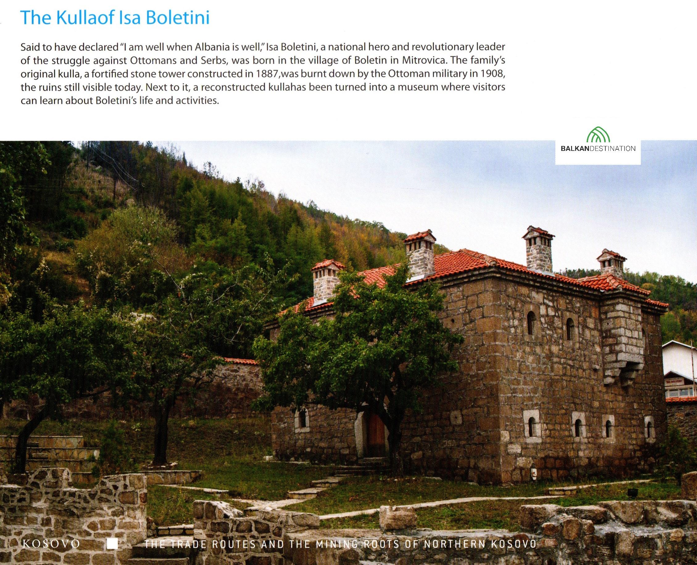 ISA Boletin tower Kulla mitrovica balkandestination
