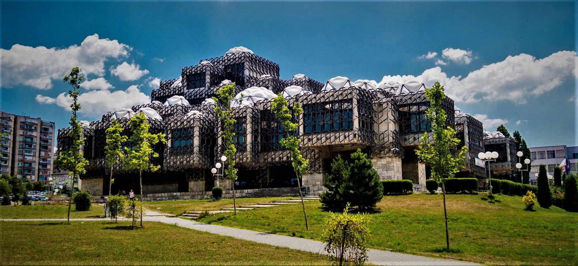National Public Library Pristina Kosovo