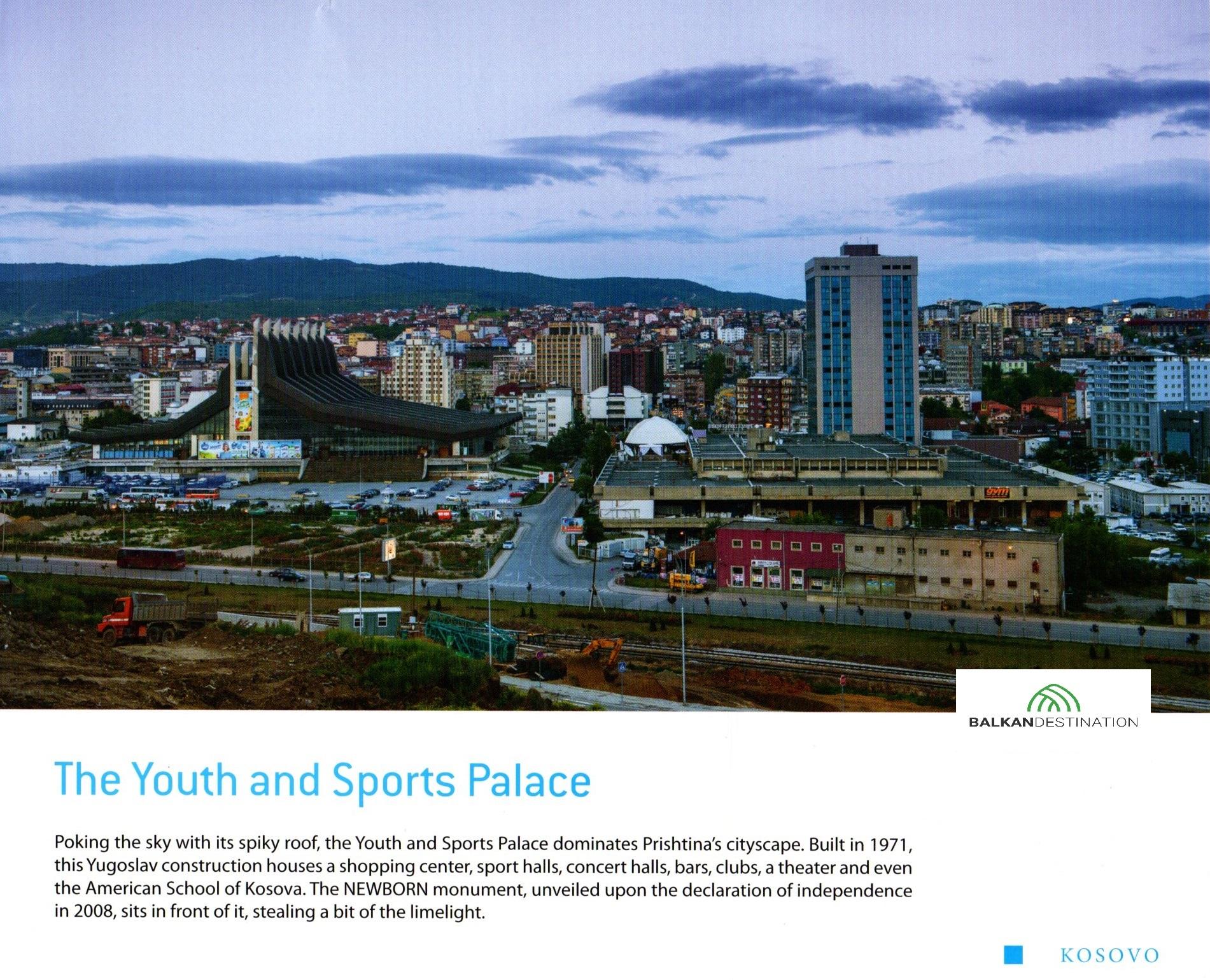 Youth and Sports Center Pristina balkandestination