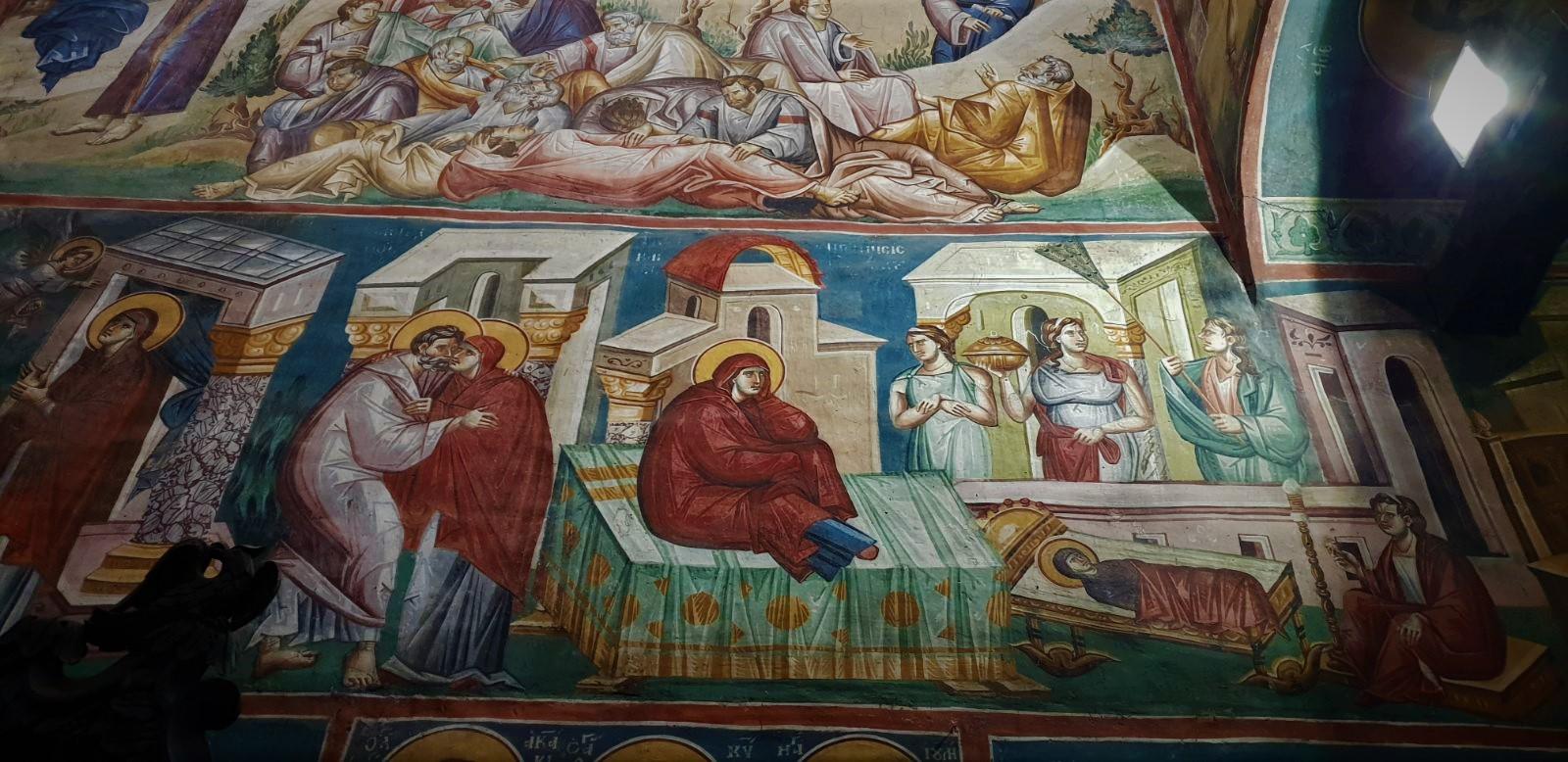balkandestination fresco monasterys kosovo