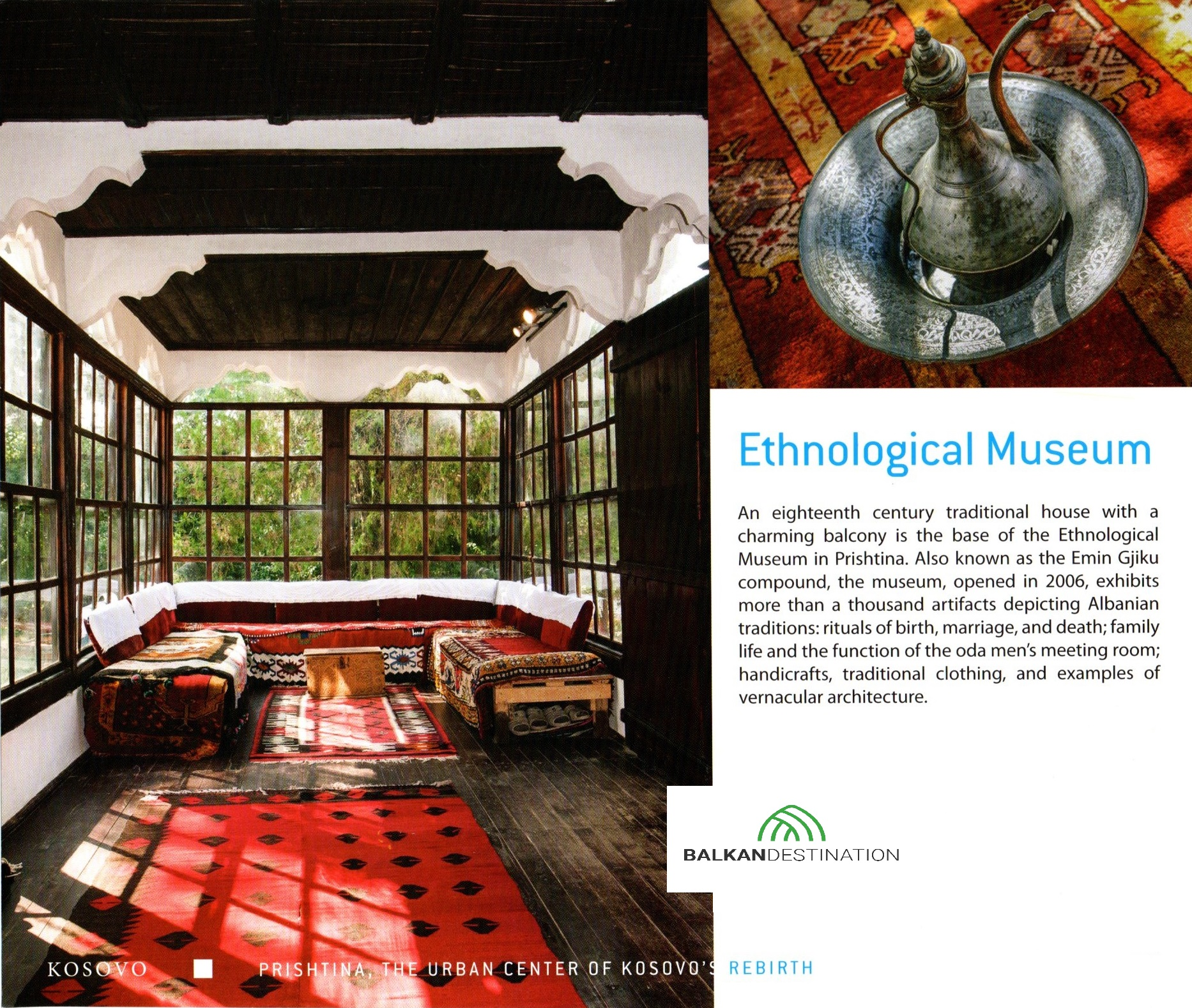 etnologicalmuseum pristina kosovo balkandestintion