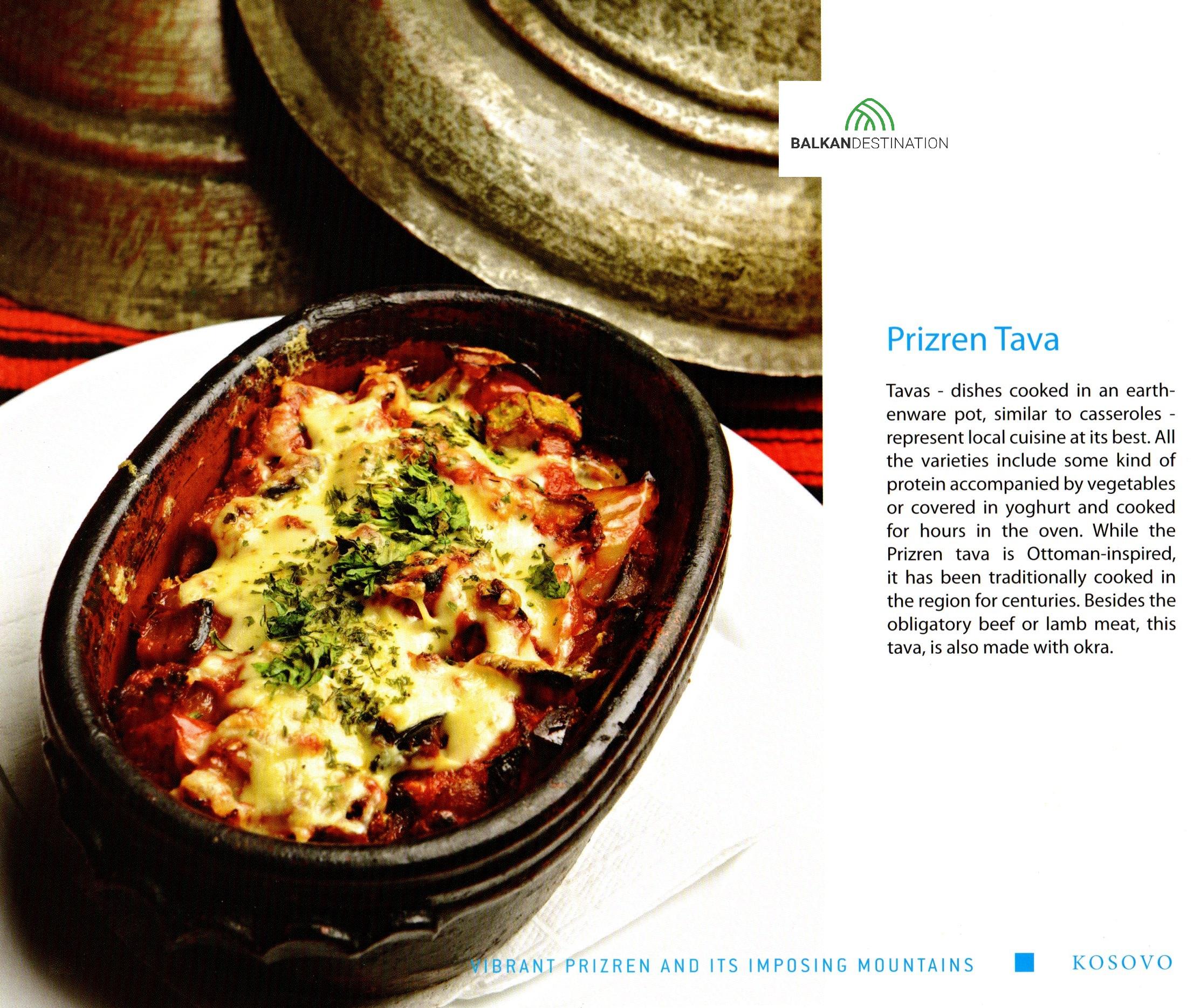 traditionalfood Prizren kosovo balkandestination